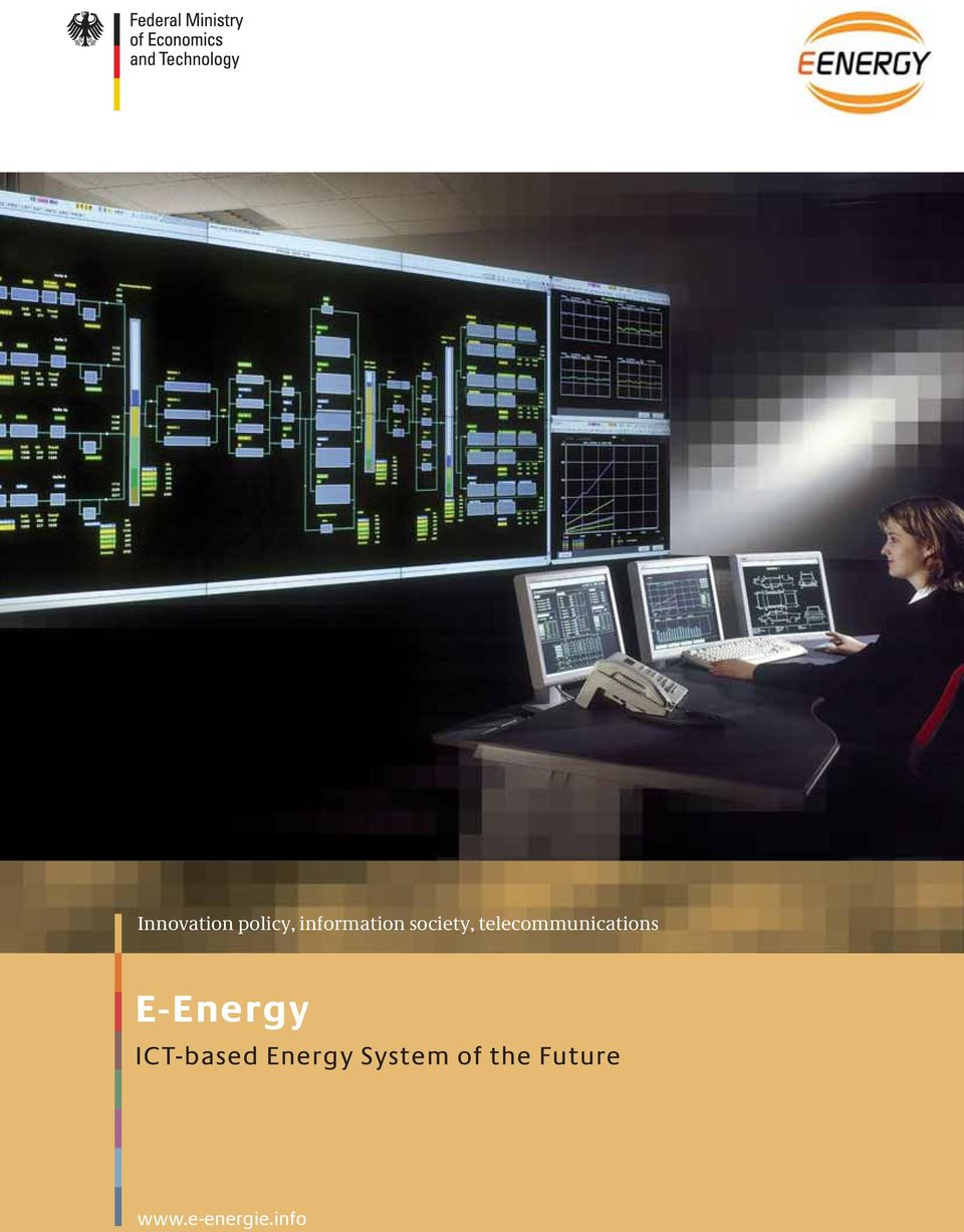 E-Energy ICT-based Energy