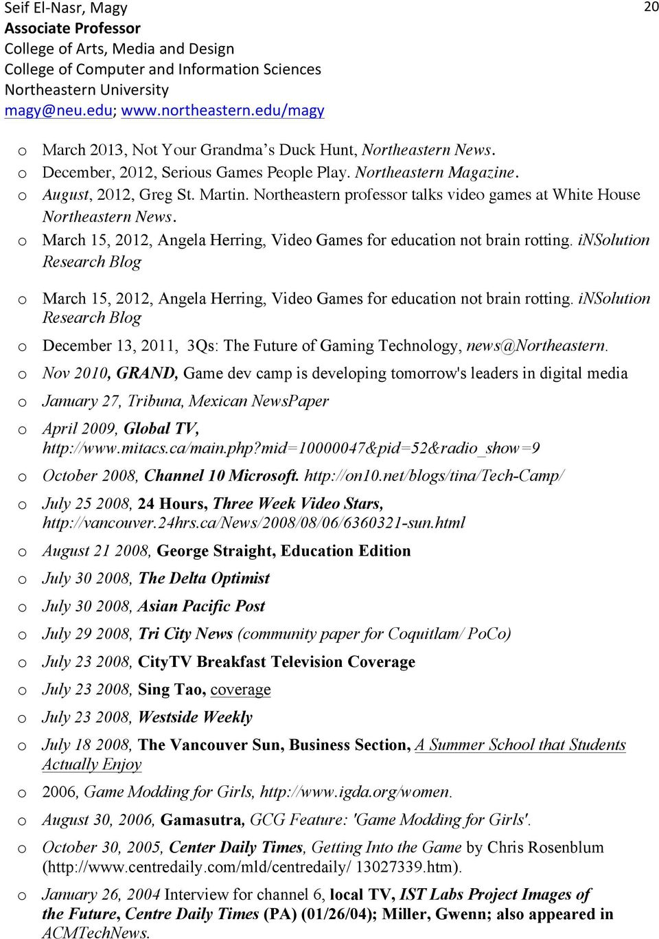 insolution Research Blog o March 15, 2012, Angela Herring, Video Games for education not brain rotting.