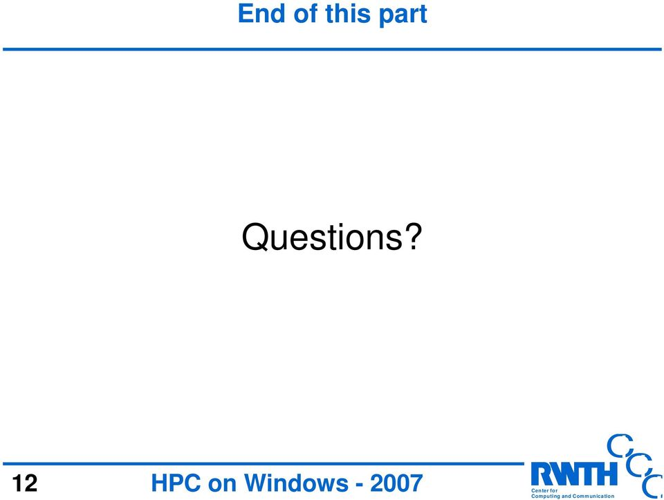 12 HP on Windows -