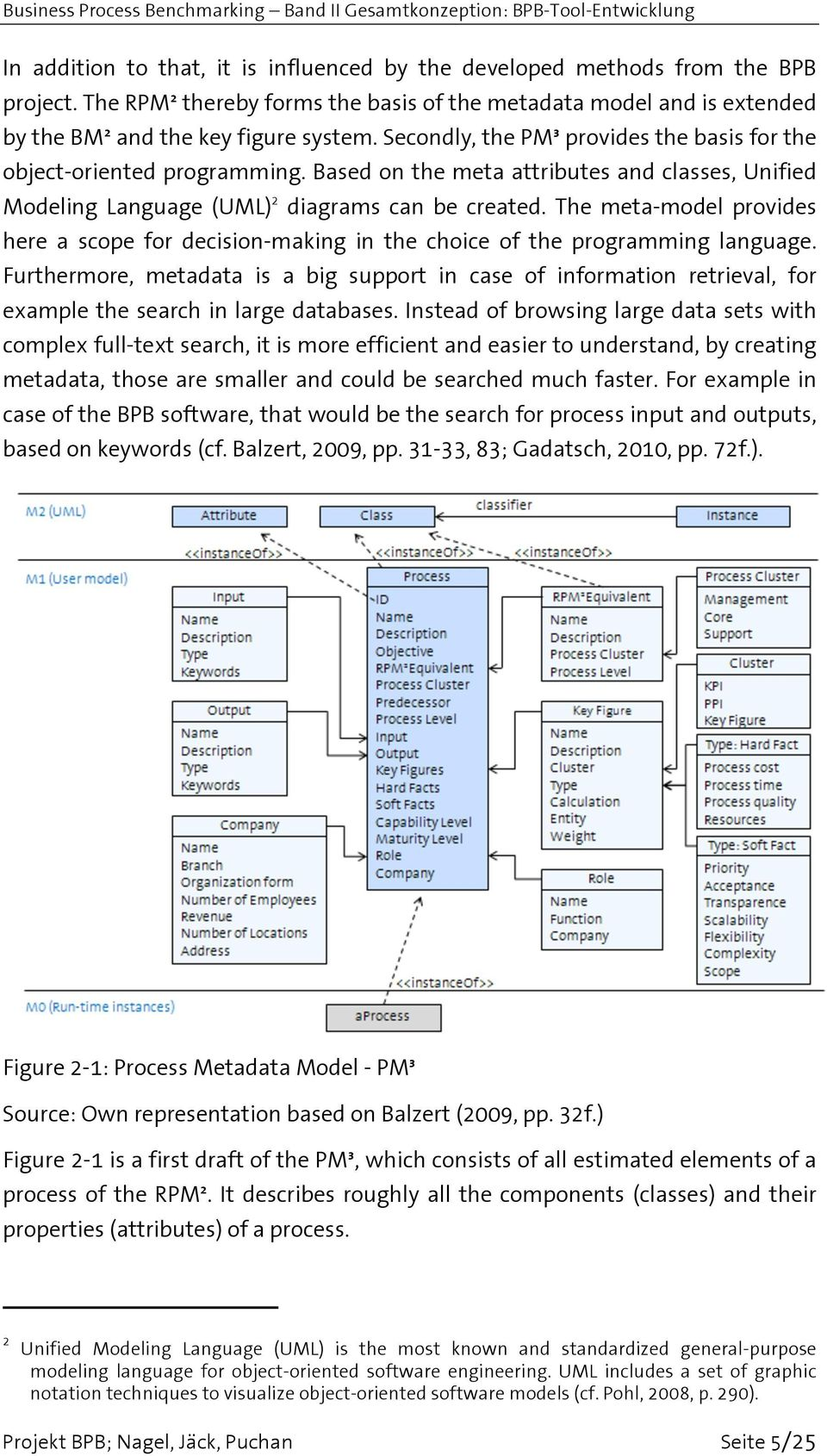 The meta-model provides here a scope for decision-making in the choice of the programming language.