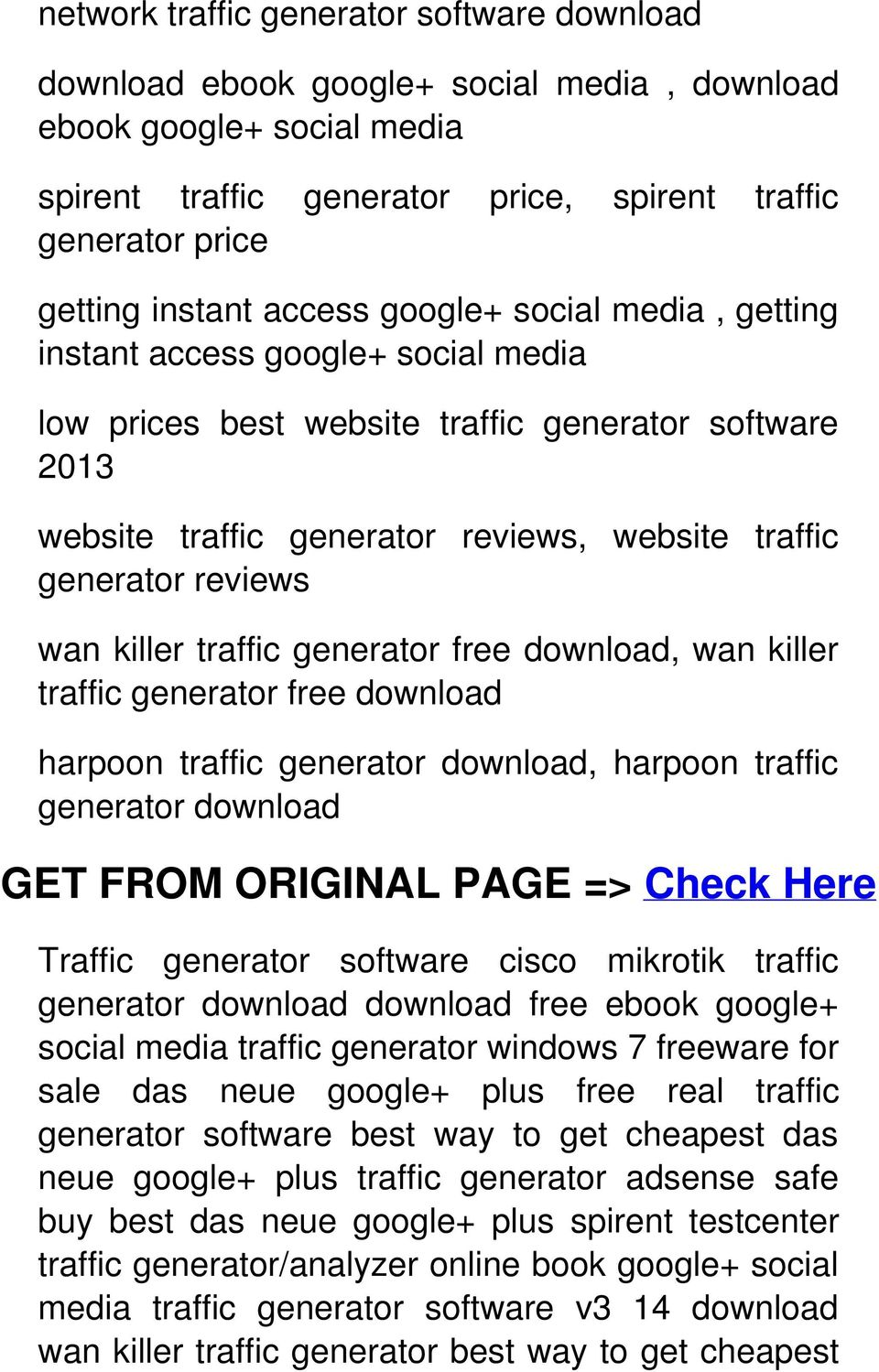 wan killer traffic generator free download, wan killer traffic generator free download harpoon traffic generator download, harpoon traffic generator download GET FROM ORIGINAL PAGE => Check Here
