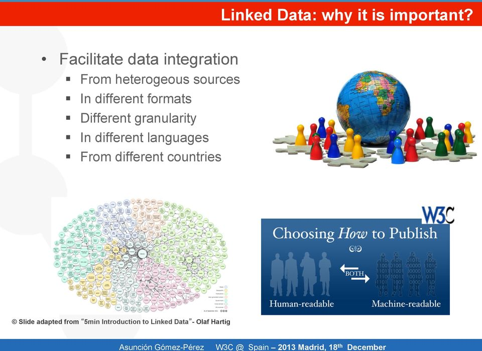 Facilitate data integration From heterogeous sources In different formats