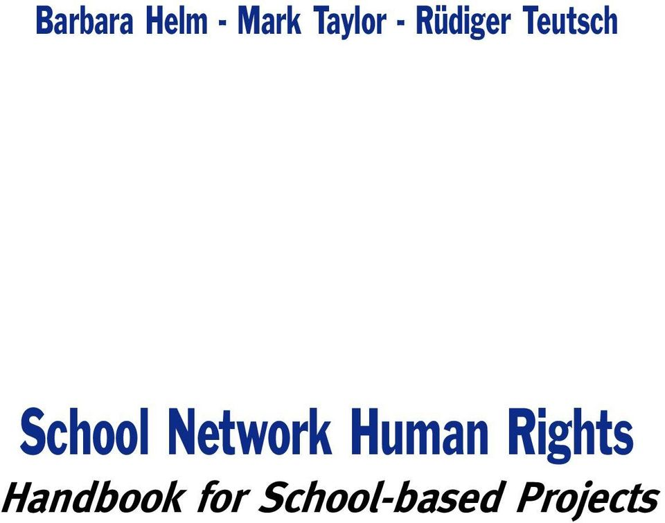 Network Human Rights
