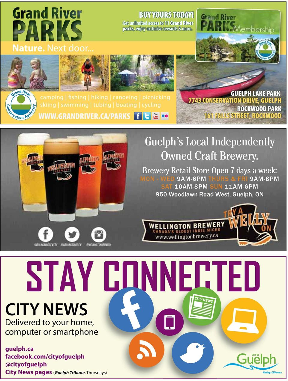 950 Woodlawn Road West, Guelph, ON STAY CONNECTED CITY NEWS Delivered to your home, computer or
