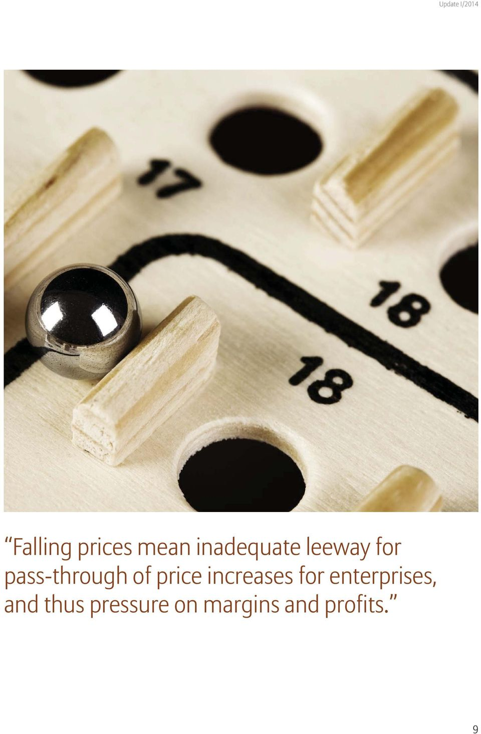 of price increases for enterprises,