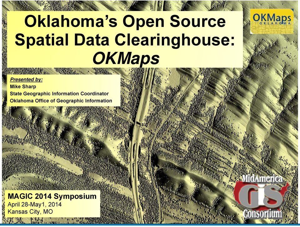Information Coordinator Oklahoma Office of Geographic