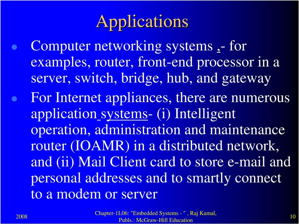 Intelligent operation, administration and maintenance router (IOAMR) in a distributed network, and