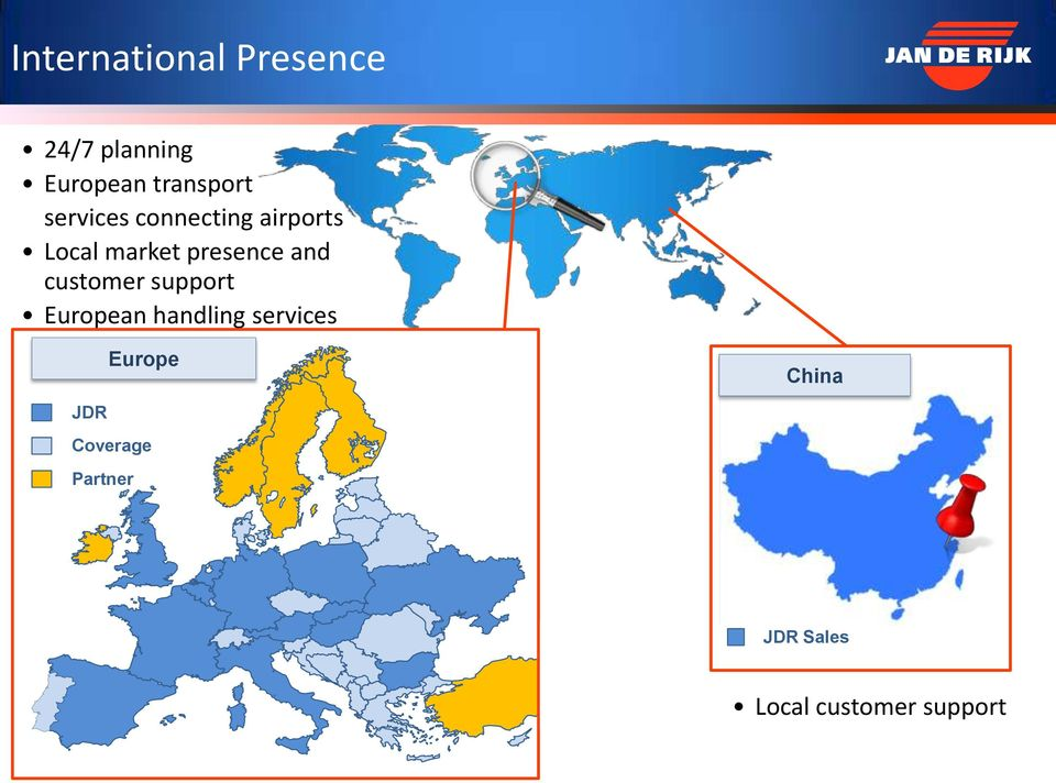 customer support European handling services Europe