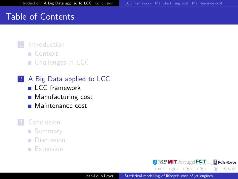 Context Challenges in LCC 2 A Big Data applied to LCC LCC framework