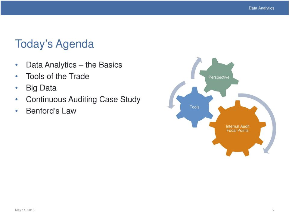 Auditing Case Study Benford s Law Tools