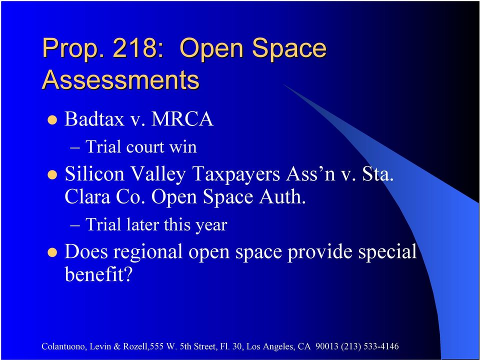 n v. Sta. Clara Co. Open Space Auth.