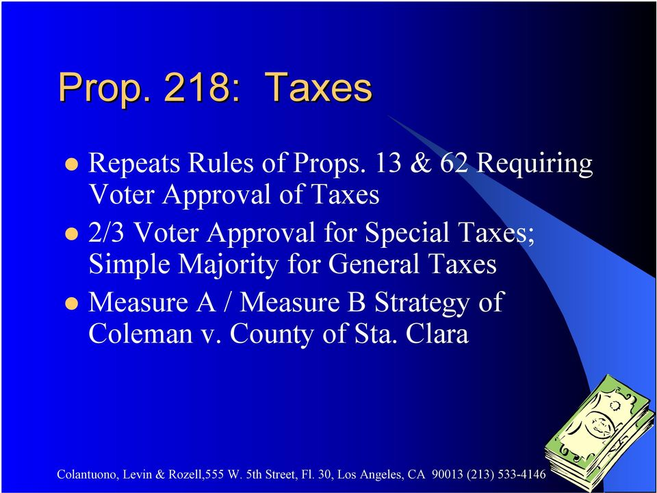 Approval for Special Taxes; Simple Majority for