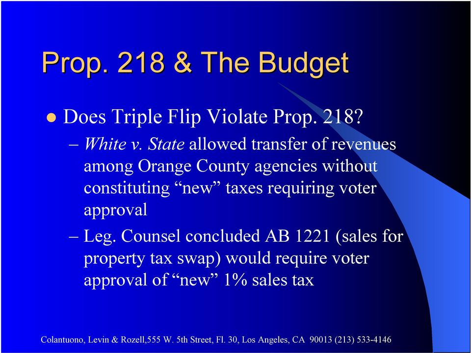 constituting new taxes requiring voter approval Leg.