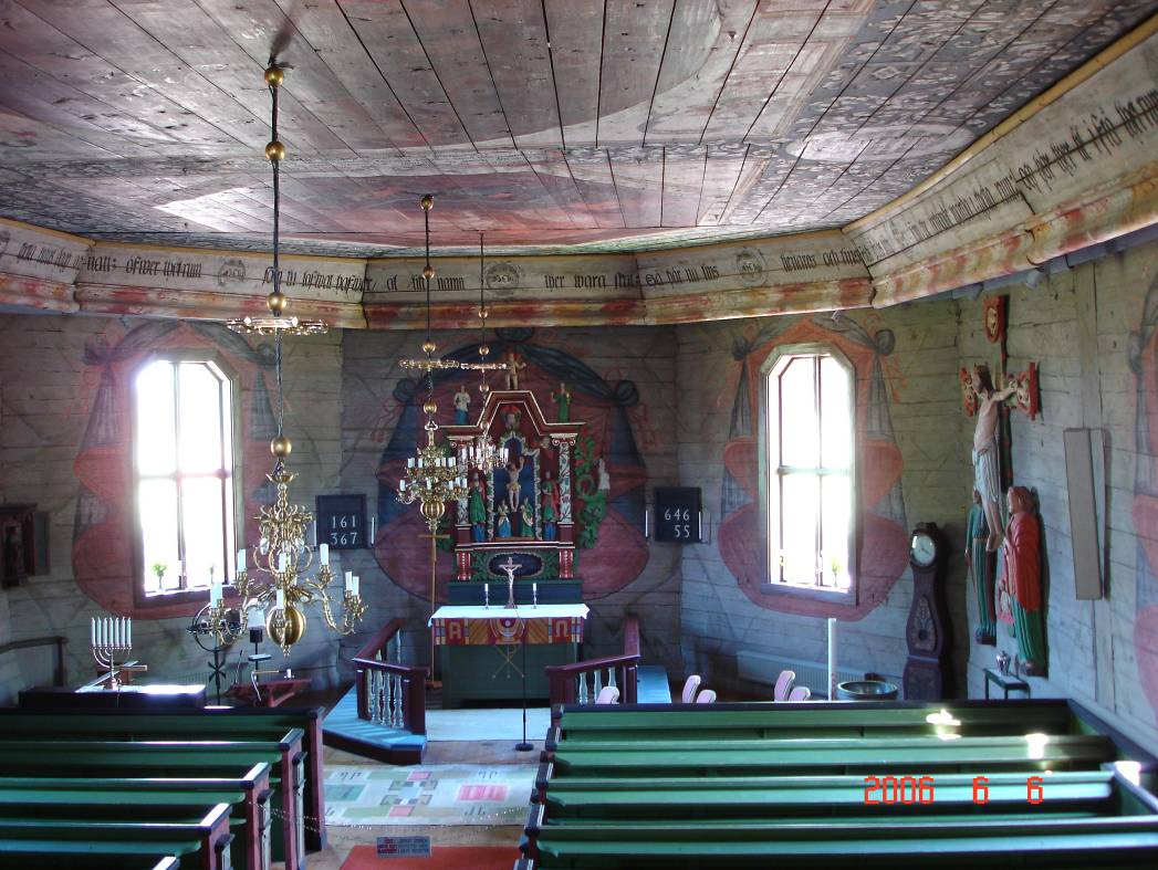 C-6 The interior of the church.
