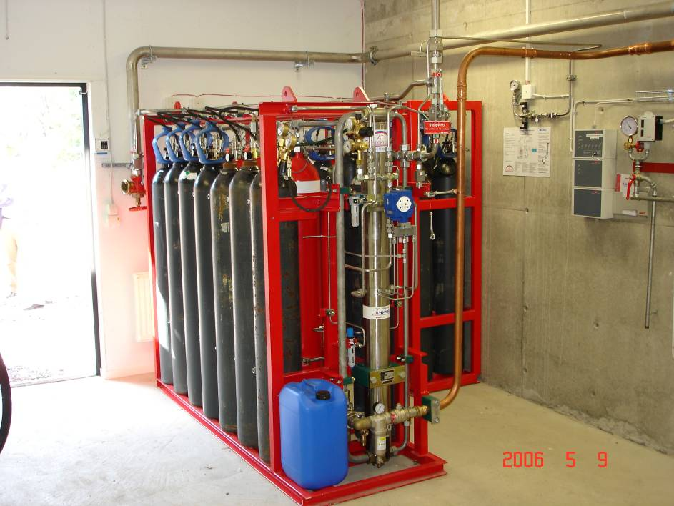 D-5 The gas driven pump (GPU) used for