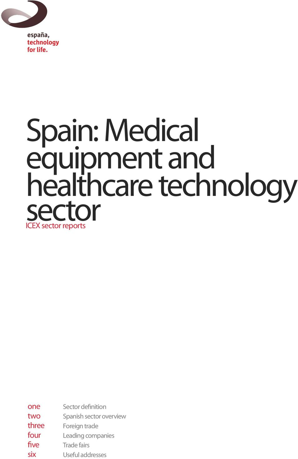 six Sector definition Spanish sector overview