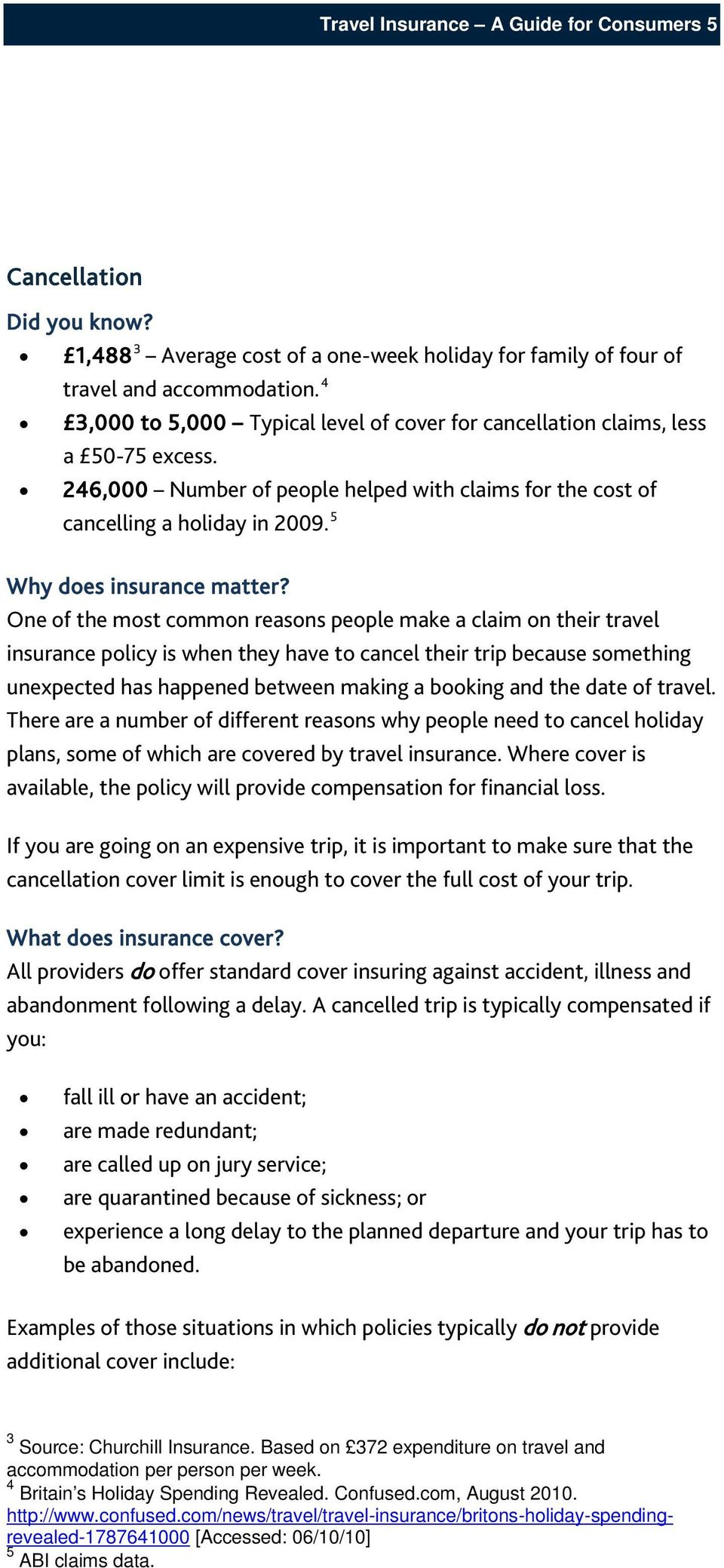 5 Why does insurance matter?