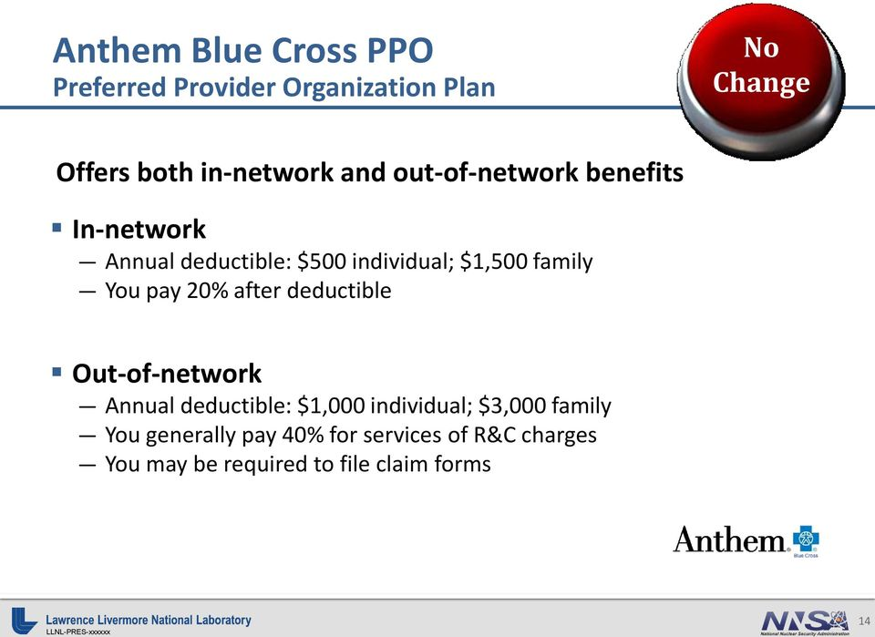 pay 20% after deductible Out-of-network Annual deductible: $1,000 individual; $3,000 family