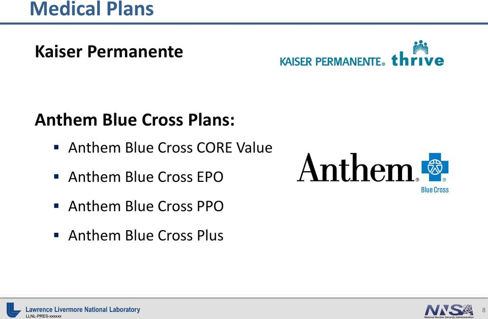CORE Value Anthem Blue Cross EPO