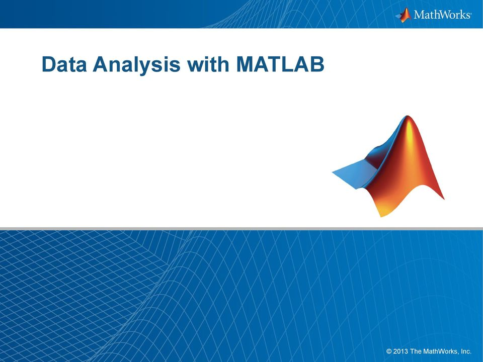 with MATLAB