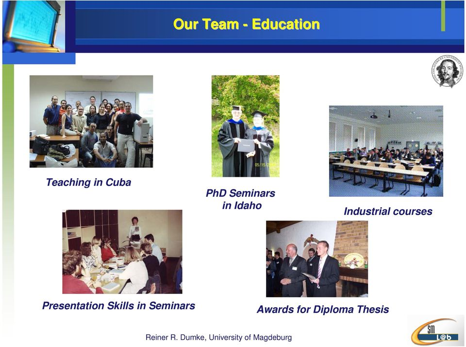Industrial courses Presentation