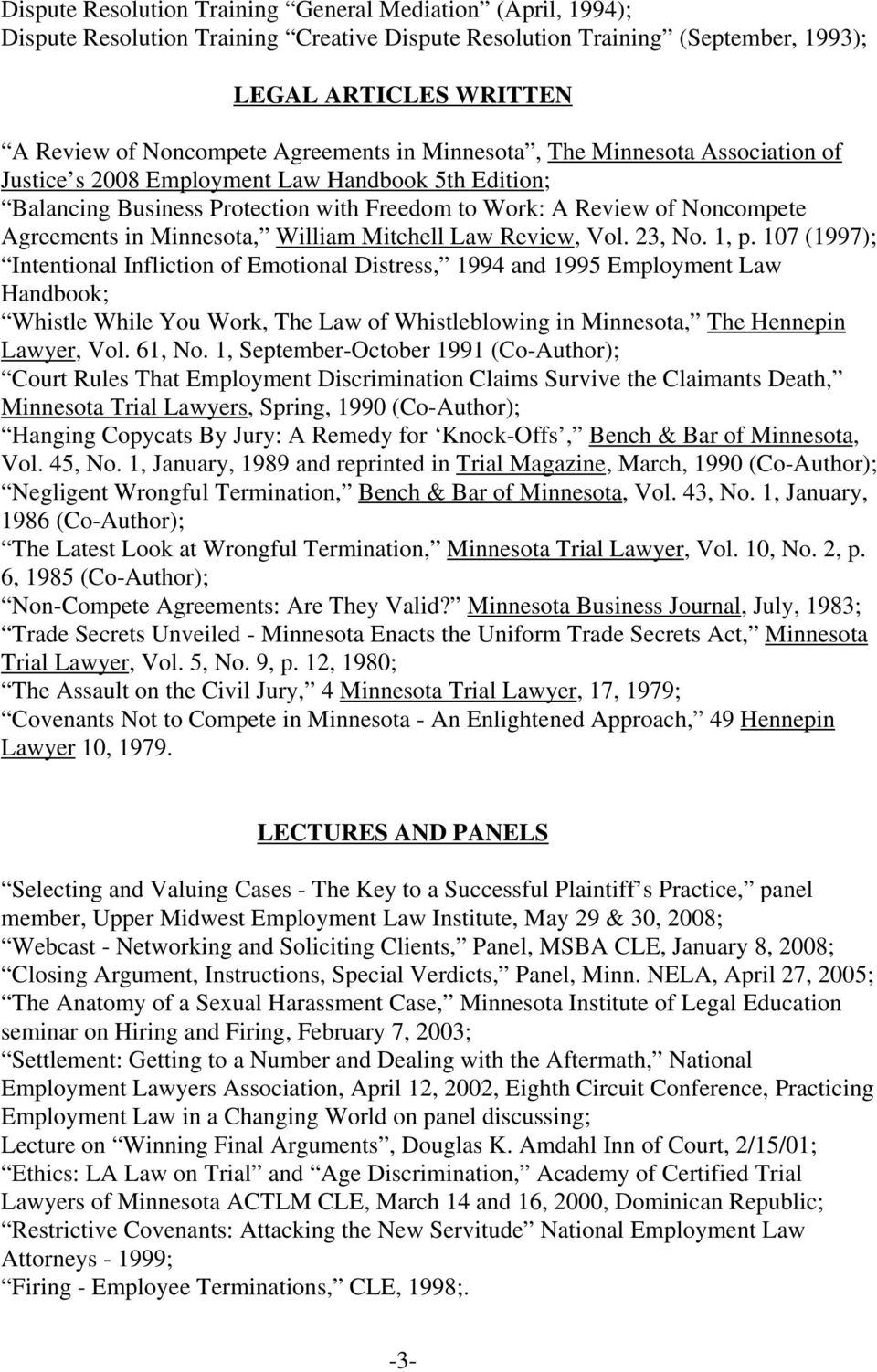 Minnesota, William Mitchell Law Review, Vol. 23, No. 1, p.