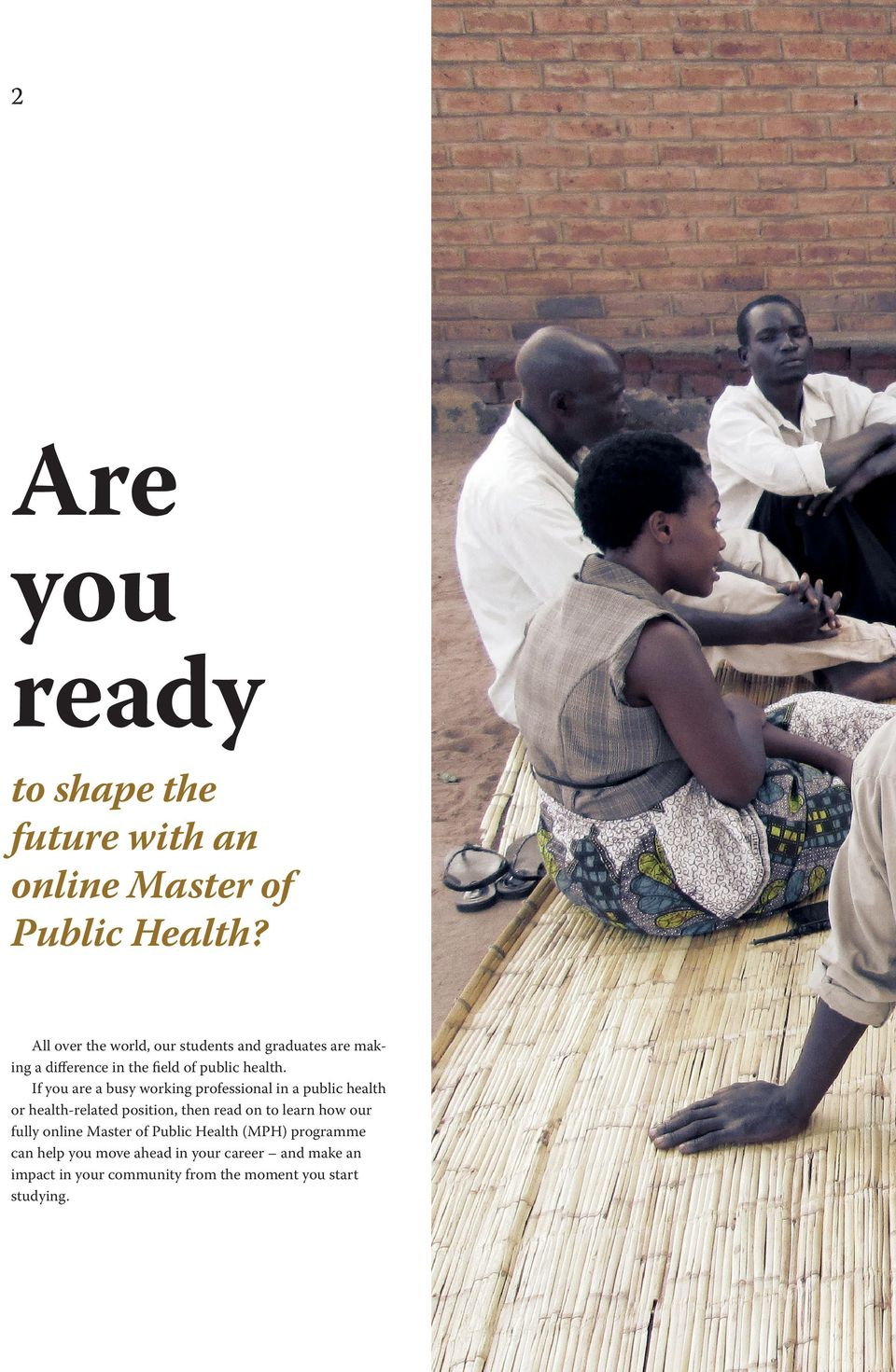 If you are a busy working professional in a public health or health-related position, then read on to learn how
