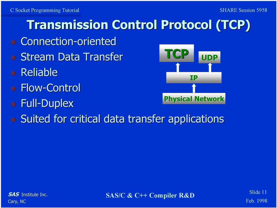 Flow-Control Full-Duplex TCP Suited for critical