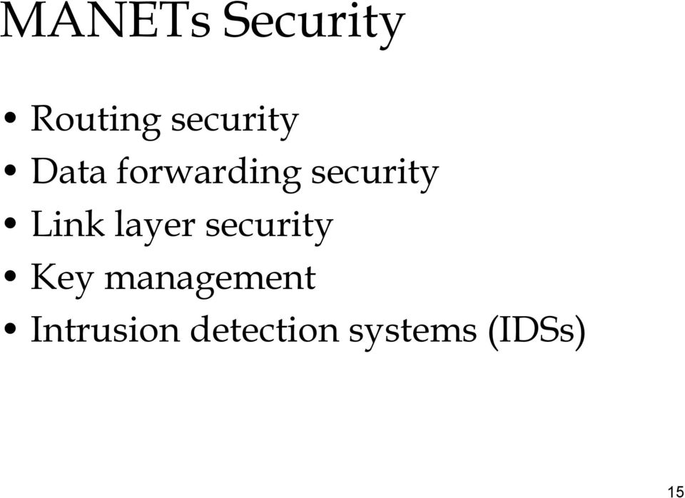 layer security Key management
