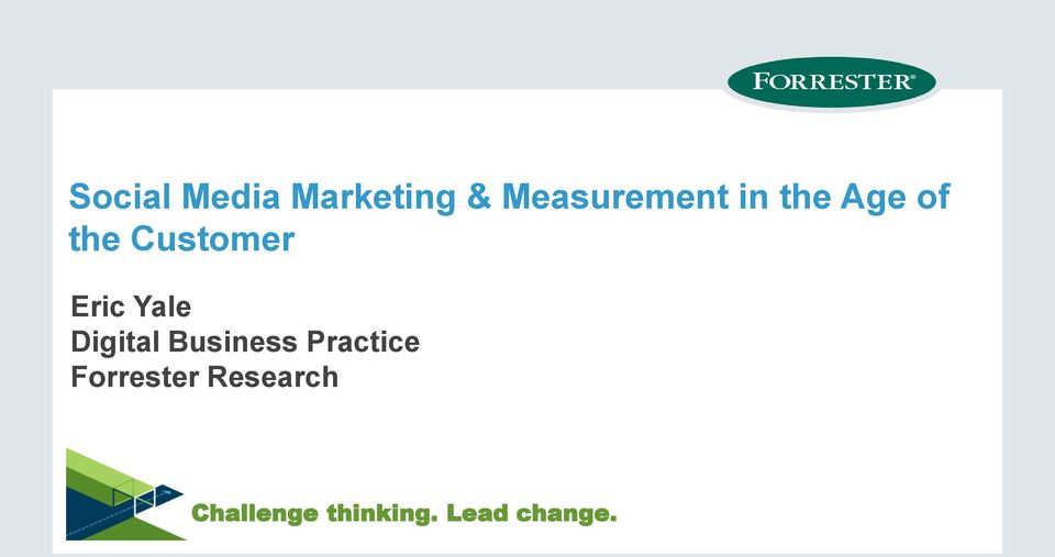Digital Business Practice Forrester