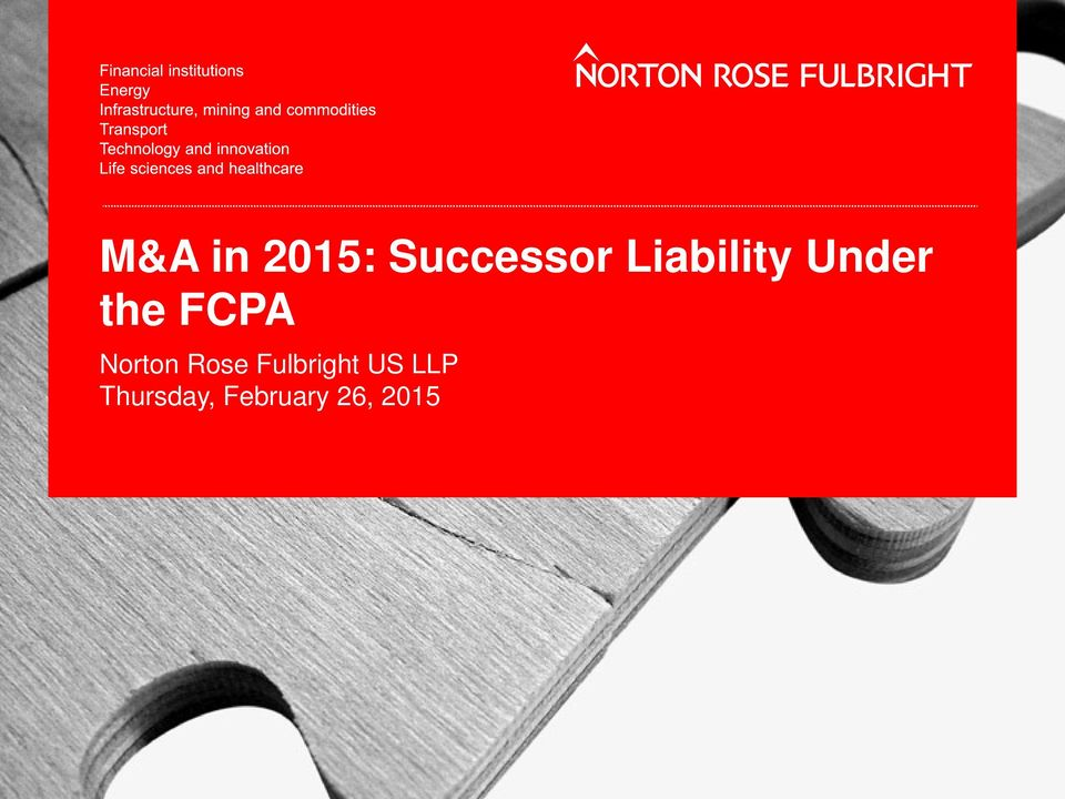 Norton Rose Fulbright US