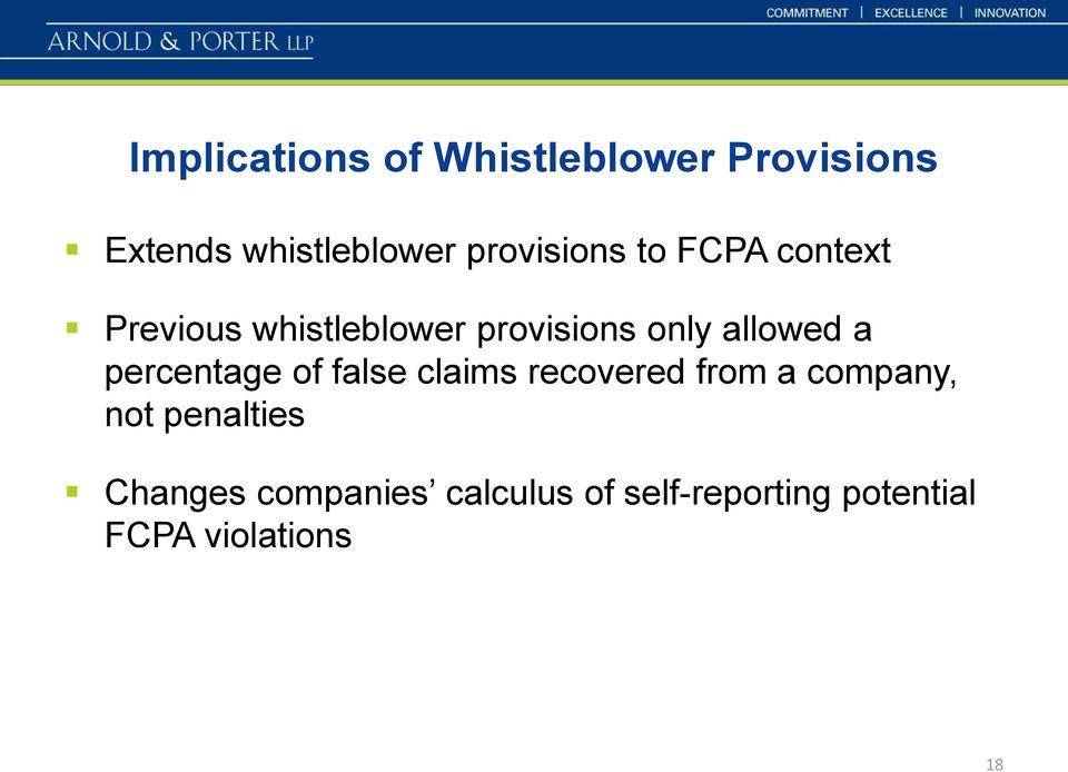 allowed a percentage of false claims recovered from a company, not