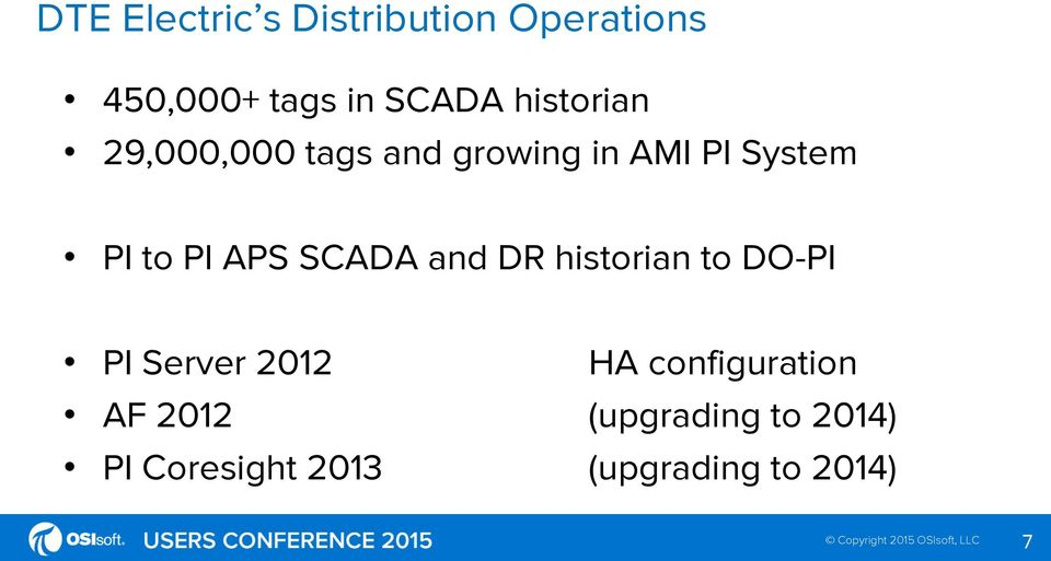 APS SCADA and DR historian to DO-PI PI Server 2012 HA