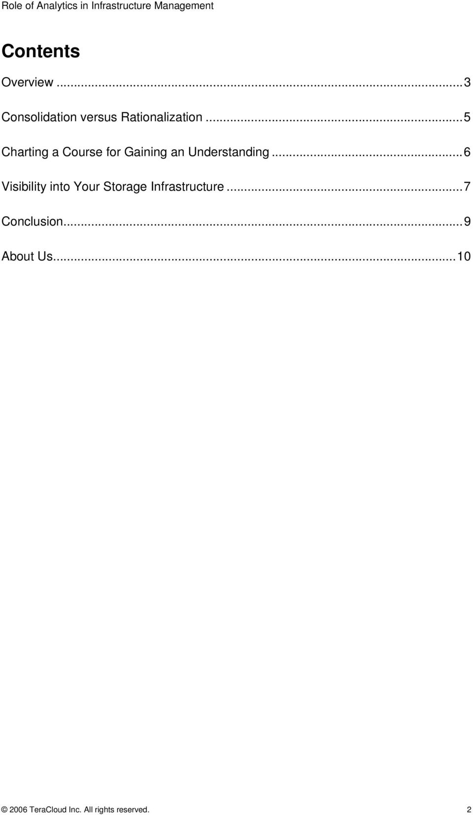 ..6 Visibility into Your Storage Infrastructure.