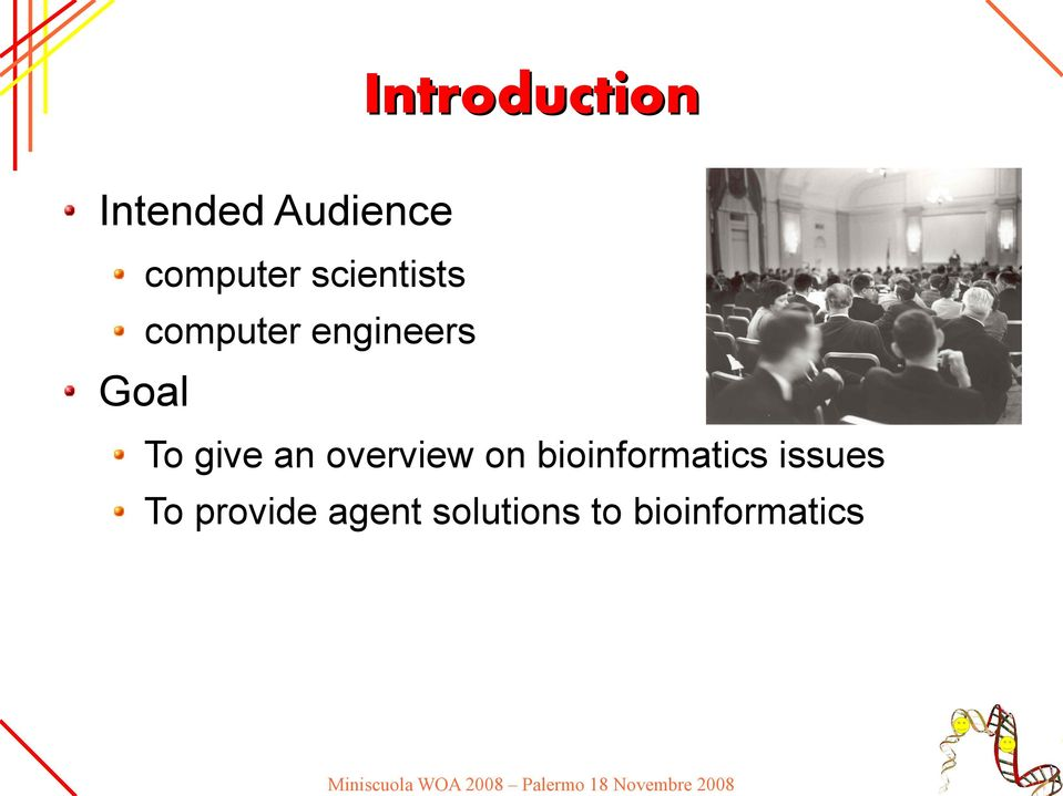 give an overview on bioinformatics