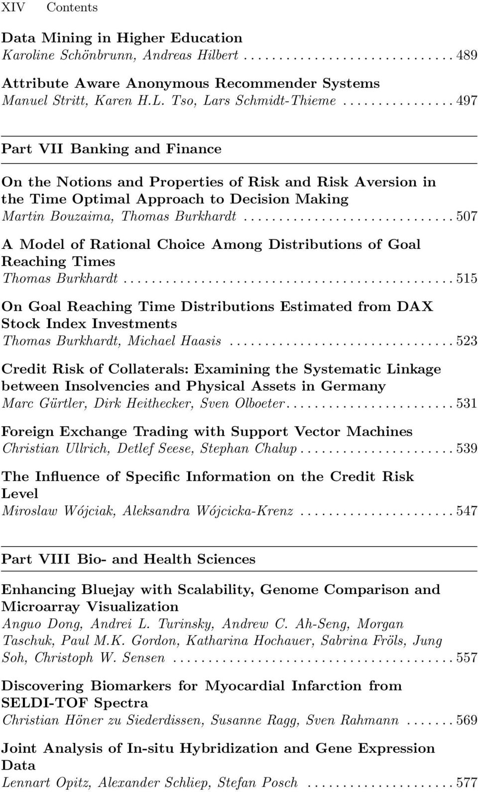 ..507 A Model of Rational Choice Among Distributions of Goal Reaching Times Thomas Burkhardt.