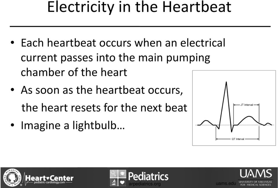 pumping chamber of the heart As soon as the heartbeat