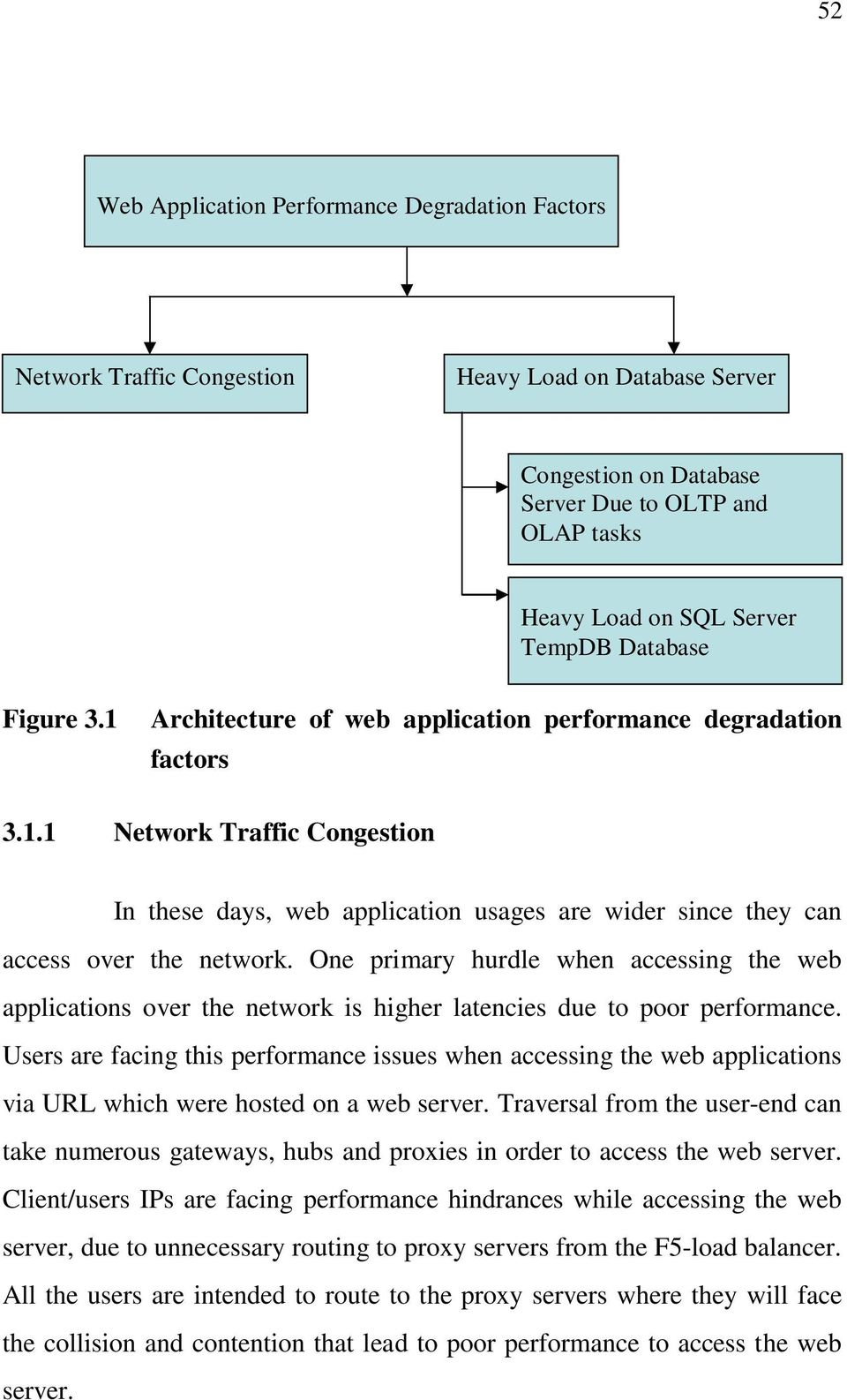 One primary hurdle when accessing the web applications over the network is higher latencies due to poor performance.