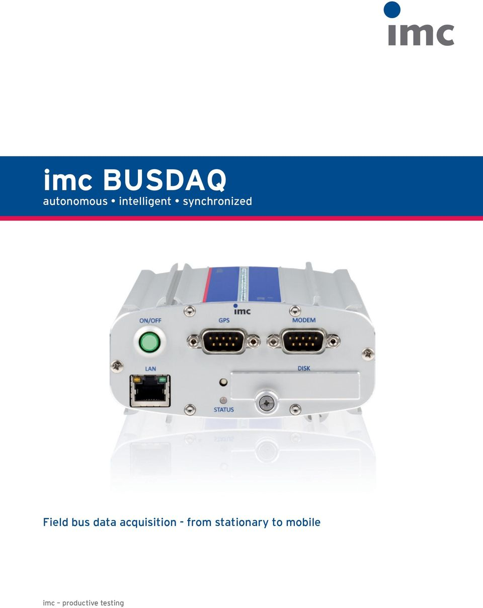 bus data acquisition - from