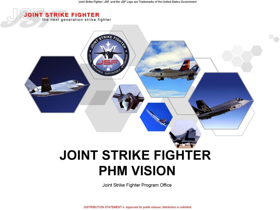 States Government JOINT STRIKE FIGHTER