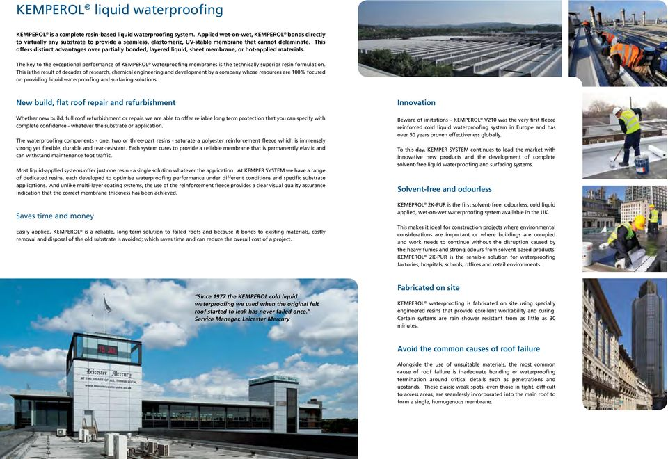 Liquid Waterproofing and Surfacing Systems - PDF