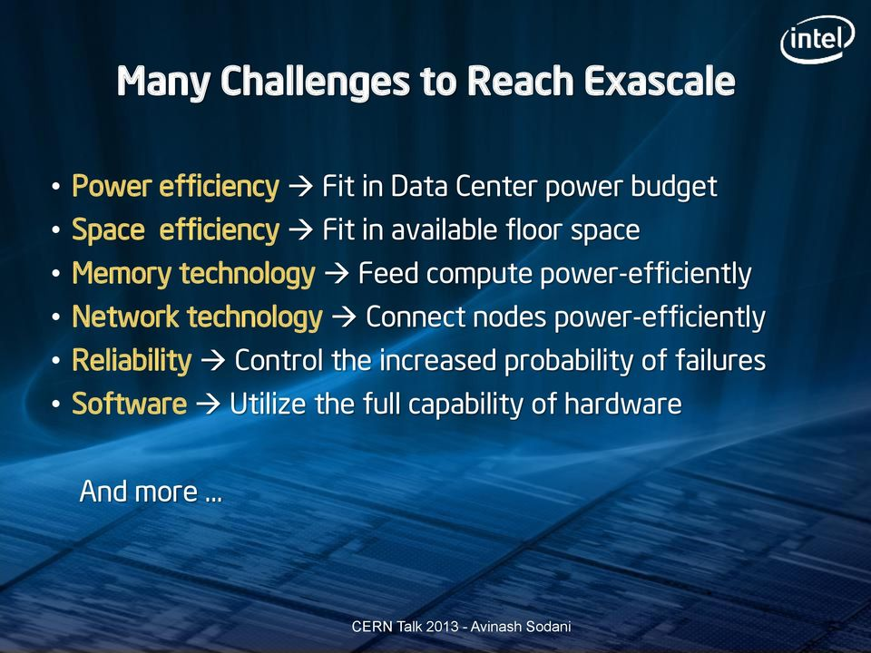 power-efficiently Network technology Connect nodes power-efficiently Reliability