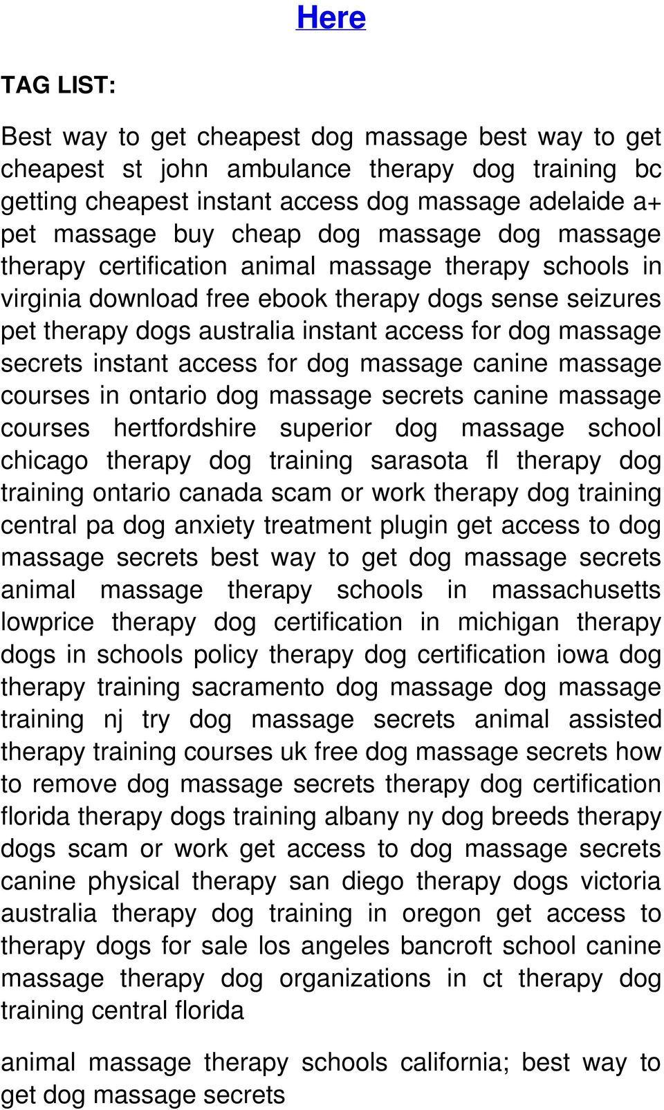 Here Download From Original Url Click Now Dog Massage Learn