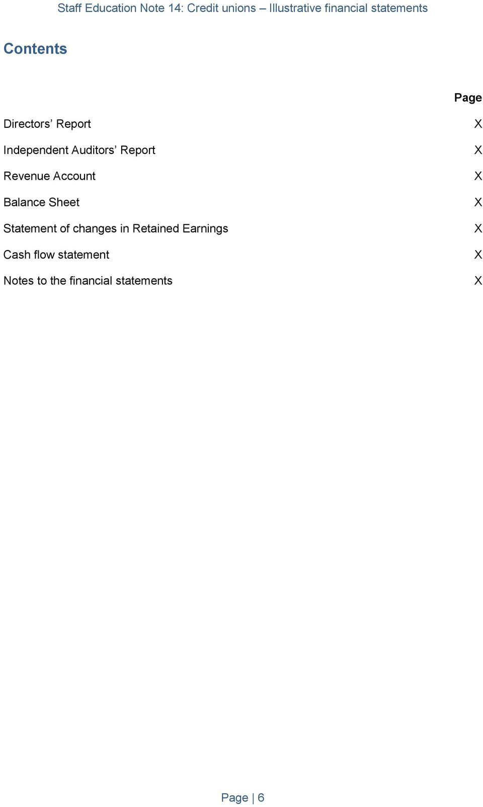 changes in Retained Earnings Cash flow statement