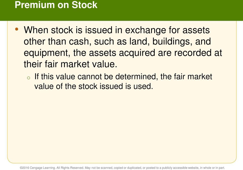 acquired are recorded at their fair market value.