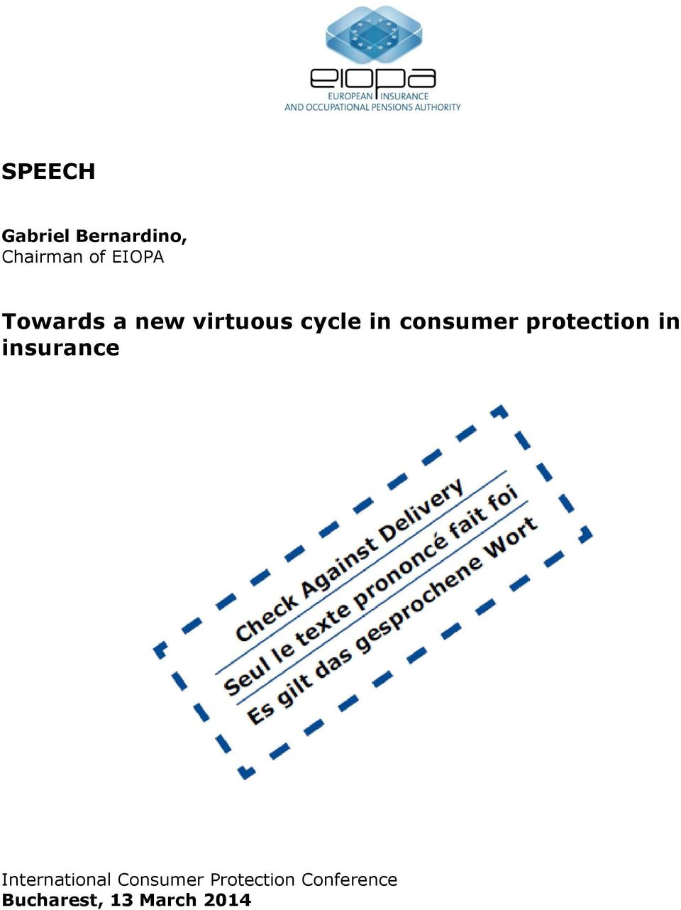 protection in insurance International