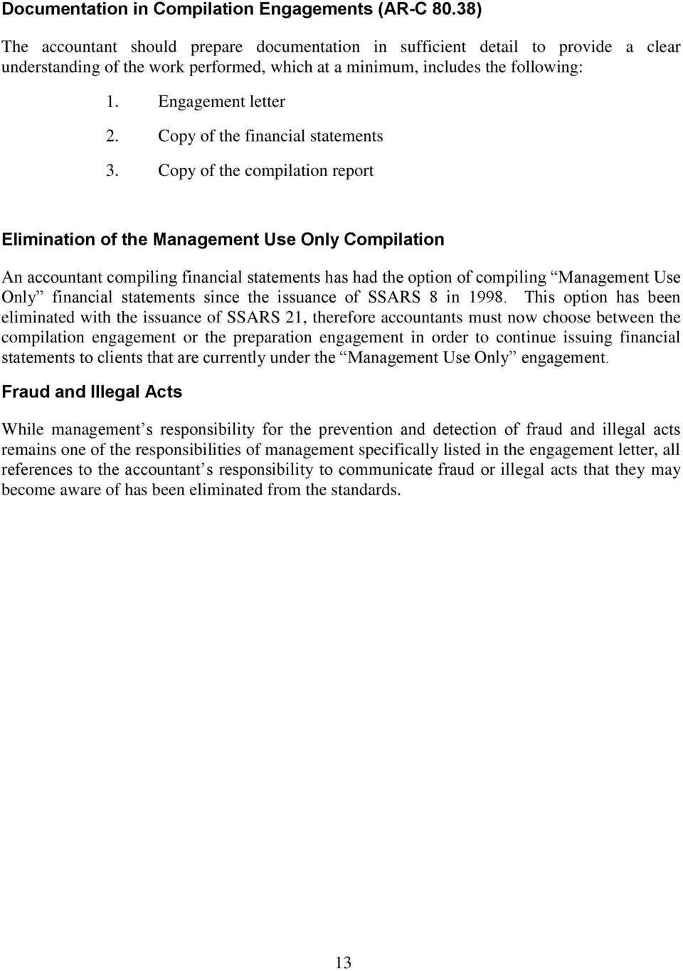 Copy of the financial statements 3.