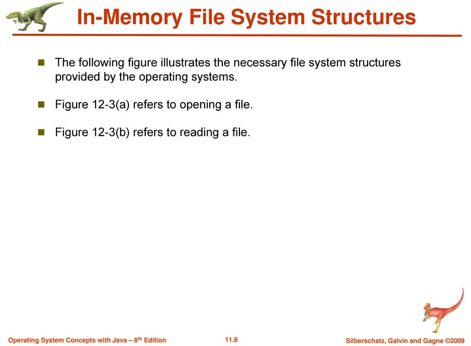 operating systems. Figure 12-3(a) refers to opening a file.