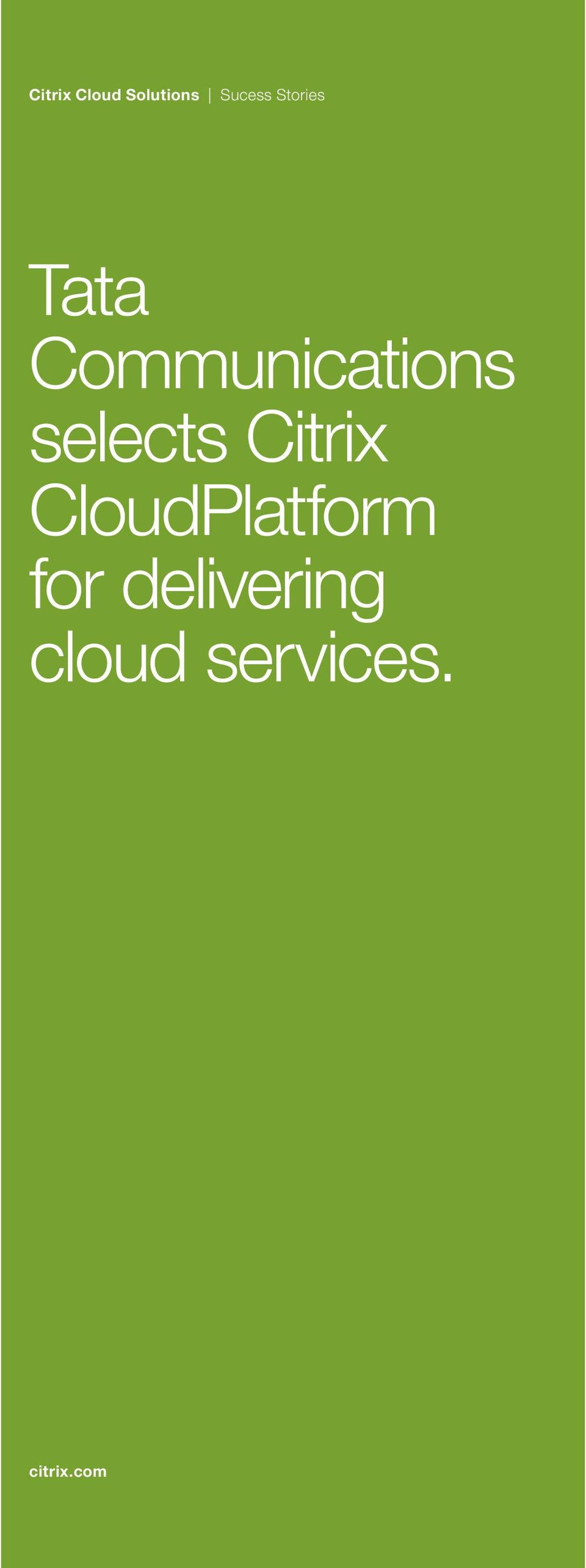 CloudPlatform for