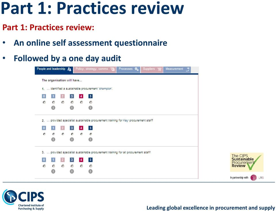 online self assessment